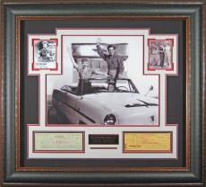 Lucille Ball & Desi Arnaz Autographed Framed I Love Lucy