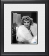 "Lucille Ball I Love Lucy Framed 8"" x 10"" in Fur Coat Photograph"