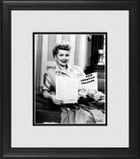 "Lucille Ball I Love Lucy Framed 8"" x 10"" Ricky's European Booking Photograph"