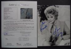 Lucille Ball I Love Lucy Signed Autograph 8x10 Photo Jsa Loa Authenticated Rare