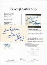 Lucille Ball I Love Lucy Signed Autographed 3x5 Index Card Jsa Loa Authenticated
