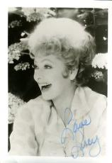 Lucille Ball Lucy Jsa Authenticated Signed 5x7 Photo Autograph