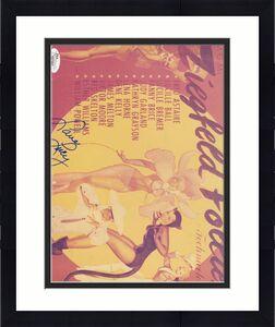 Lucille Ball Lucy Ziegfeld Follies Jsa Coa Hand Signed 8x10 Photo Autograph