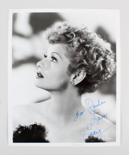 Lucille Ball Signed 8×10 Photo – JSA Full LOA