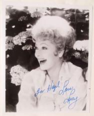 Lucille Ball Signed  I Love Lucy 8x10 Photo PSA/DNA