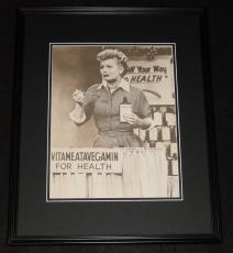Lucille Ball Vitameatavegamin Framed 11x14 Photo Poster I Love Lucy