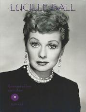 Lucille Ball With Remnant Piece 8.5x10 Photo - Relic # 92