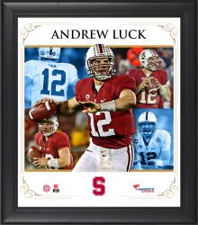 Andrew Luck Stanford Framed Core Composite Plaque