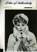 LUCY LUCILLE BALL Hand Signed PSA DNA COA 8x10 Photo Autographed Authentic