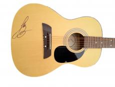 Luke Bryan Signed First Act Acoustic Guitar JSA