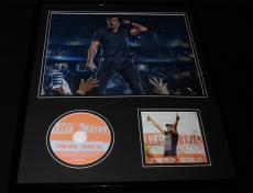 Luke Bryan Signed Framed 16x20 Spring Break Checkin Out CD & Photo Display