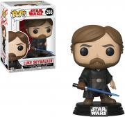 Luke Skywalker Star Wars the Last Jedi Final Battle #266 Funko Pop!