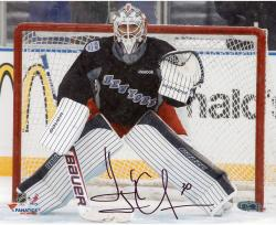Henrik Lundqvist New York Rangers Autographed 8'' x 10'' Stadium Series Photograph - Mounted Memories