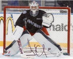 "Henrik Lundqvist New York Rangers Autographed 8"" x 10"" Stadium Series Photograph"