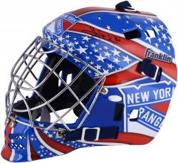 Henrik Lundqvist New York Rangers Autographed Replica Goalie Mask