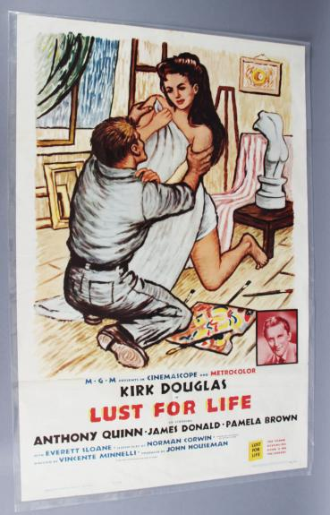 Lust For Life One Sheet Movie Poster R62/34 EX Condition.