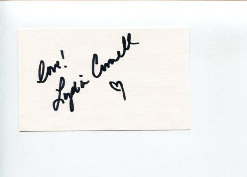 Lydia Cornell Too Close for Comfort Venus Conspiracy Bloodtide Signed Autograph