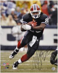 "Marshawn Lynch Buffalo Bills Autographed 16"" x 20"" Action Photograph"