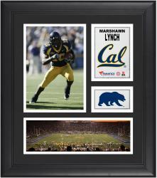 "Marshawn Lynch Cal Bears Framed 15"" x 17"" Collage"