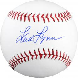 Fred Lynn Boston Red Sox Autographed Baseball