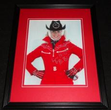 Lynn Holly Johnson Signed Framed 8x10 Photo AW For Your Eyes Only James Bond