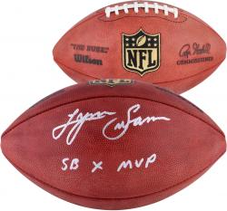 "Lynn Swann Pittsburgh Steelers Autographed Duke Pro Football with ""SB X MVP"" Inscription"