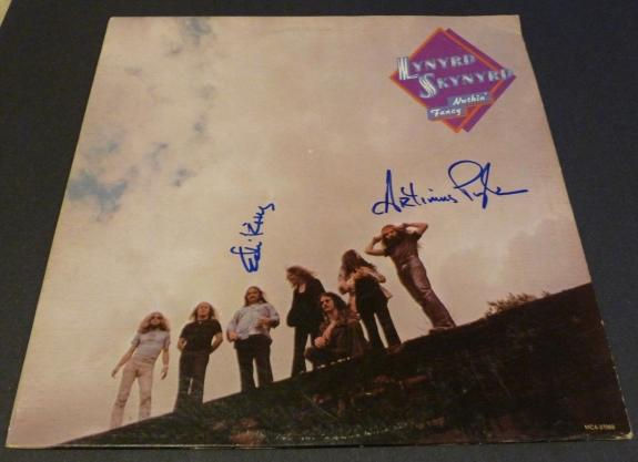 Lynyrd Skynyrd Ed King & Artimus Pyle Autographed Signed LP PSA BAS Guaranteed