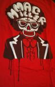 Mac Miller Music Legend 2012 Under The Influence Of Music Concert Red Shirt Sz M