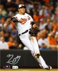 "Manny Machado Baltimore Orioles Autographed 8"" x 10"" Orange Carpet Photograph"