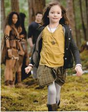 Mackenzie Foy signed The Twilight Saga: Breaking Dawn 8x10 photo W/Coa Proof #2