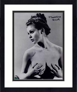 MADELINE SMITH Bond Girl MISS CARUSO signed 11x14 Photo ~ OC COA +Holo+Pic Proof