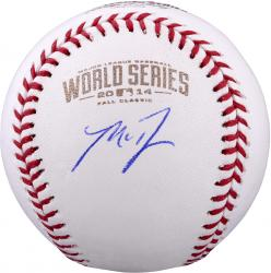 Madison Bumgarner San Francisco Giants Autographed 2014 World Series Baseball