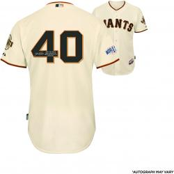 Madison Bumgarner San Francisco Giants Autographed 2014 World Series Home Jersey with Multiple Inscriptions - #2-24 of a Limited Edition of 25