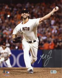 "Madison Bumgarner San Francisco Giants Autographed 8"" x 10"" Photograph"