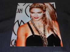 Madonna 1980's Style Icon AMA Vintage 8x10 Full Color Photo 614