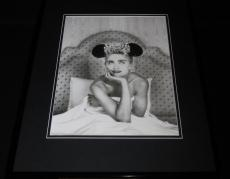 Madonna 1987 in bed with mouse ears Framed 11x14 Photo Poster