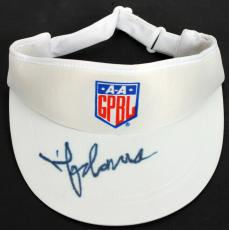 Madonna A League Of Their Own Signed AAGPBL Visor JSA #Y03878