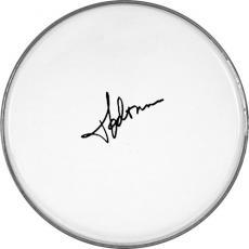 Madonna Autographed Facsimile Signed Clear Drumhead