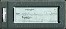Madonna Ciccone Signed Handwritten May 1984 Check Psa/dna Slabbed