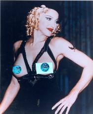 Madonna Exposed Breasts unsigned 8x10 photo Nudity,