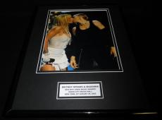Madonna Kisses Britney Spears MTV VMAs Framed 11x14 Photo Display