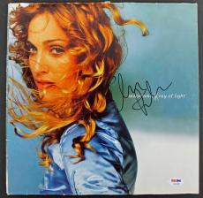 Madonna Signed 'Ray Of Light' Album Cover Autographed PSA/DNA #AB04446