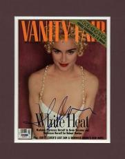 Madonna Signed Vanity Fair Magazine Cover Matted Psa/dna #i03015