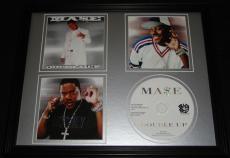 Ma$e 1999 Double Up Framed 11x14 CD & Photo Display Mase Bad Boy