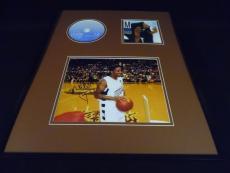 Ma$e Signed Framed 16x20 Harlem World CD & Photo Display AW Mase Bad Boy C