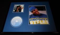Ma$e Signed Framed 16x20 Harlem World CD & Photo Set AW Bad Boy