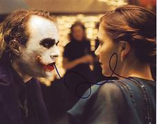 MAGGIE GYLLENHAAL signed *THE DARK KNIGHT* 8x10 photo Rachel 'Batman' W/COA #4