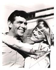 "MAGGIE PETERSON as CHARLENE DARLING in ""THE ANDY GRIFFITH SHOW"" Signed 8x10 B/W Photo"