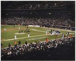"Magglio Ordonez Detroit Tigers 2006 ALCS Walk Off HR Autographed Celebration 16"" x 20"" Photograph - Mounted Memories"