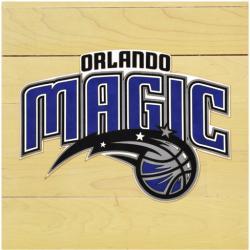 """NBA Orlando Magic 12"""" x 12"""" Logo Floor Piece"""